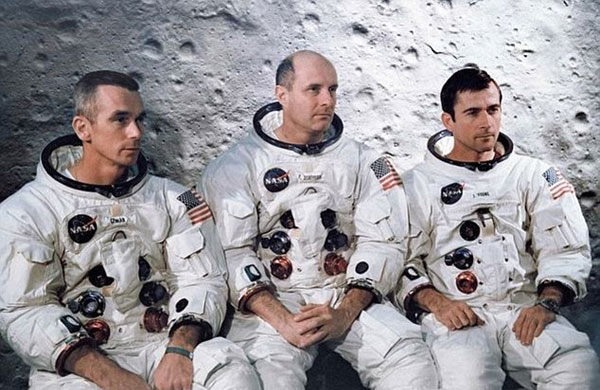 Apollo 10 astronauts heard mysterious 'music' on the dark side of the moon, newly uncovered tapes reveal
