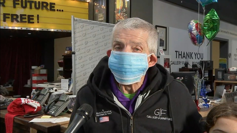 Mattress Mack opens Gallery Furniture as shelter during winter storm