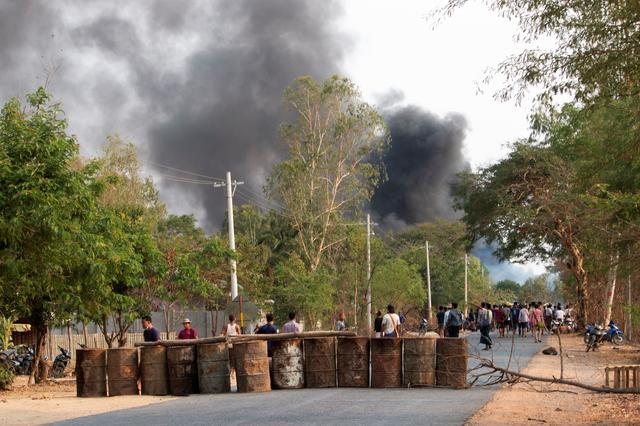 Myanmar security forces with rifle grenades kill over 80 protesters – monitoring group
