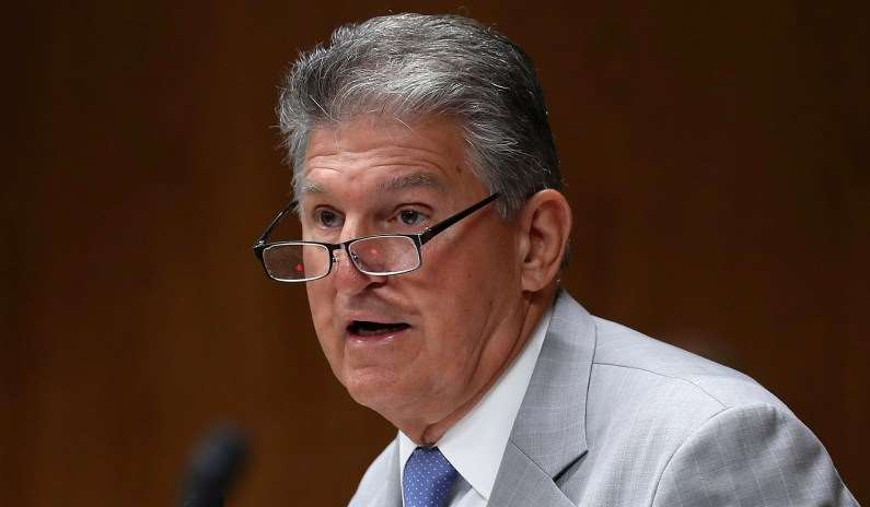Manchin Comes Out against Biden Infrastructure Bill