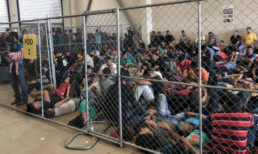 Thousands of migrant children detained in Texas in appalling conditions