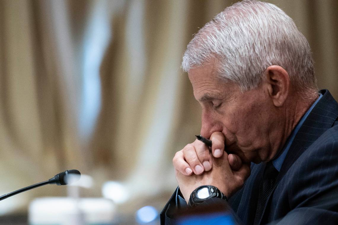 """""""For Crying Out Loud"""": GOP Senator Tears Into Fauci Over Funding To Wuhan Institute Of Virology"""