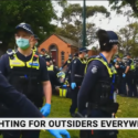 Police in Victoria 'crossed a very dangerous and scary line'