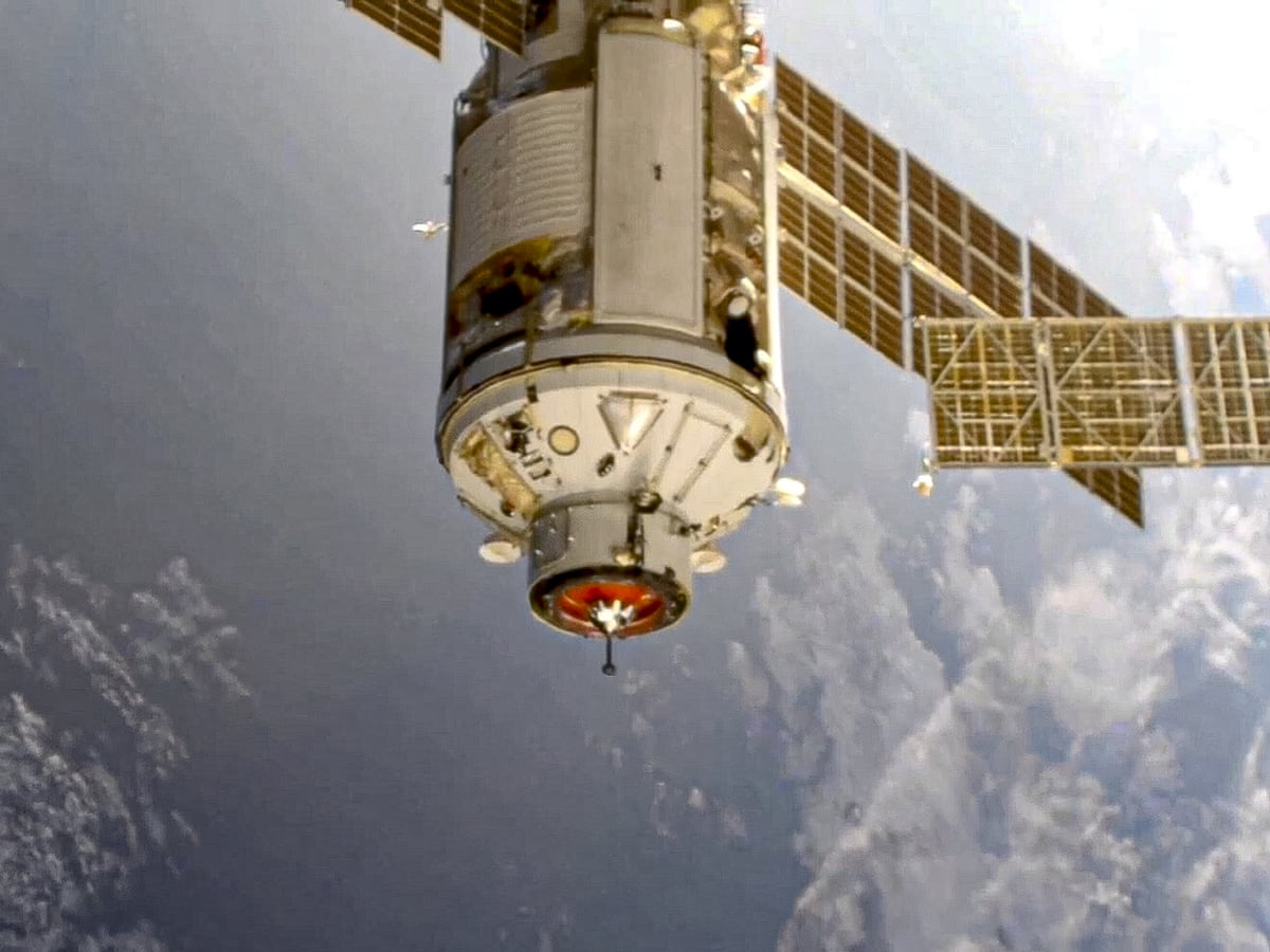 Russia rocket mishap briefly nudges International Space Station out of position