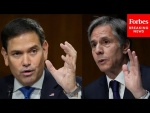 Marco Rubio Excoriates Blinken To His Face Over Afghanistan Withdrawal During Tense Senate Hearing