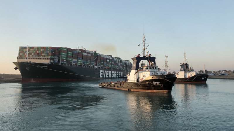 Suez Canal Ship Is Free